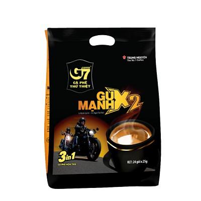 G7 두배 진한 3in1 X2 베트남 인스턴트 커피믹스-1백(24스틱)
