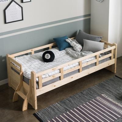 인터데코 소나무 원목 데이베드 침대소파 슬림포켓매트포함 S C02