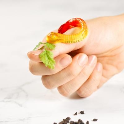 피나포레 지렁이 왕꿈틀이 DIY 젤리만들기 쿠킹박스