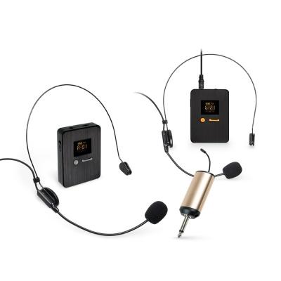 UHF 무선 핀 마이크 헤드셋 / 수신기 세트 LCCR400CDR