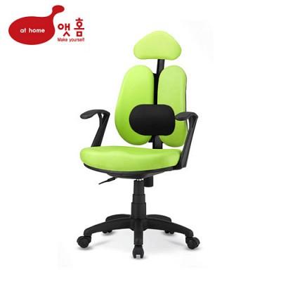 앳홈 센스 인조가죽 [해더형+요추] 의자
