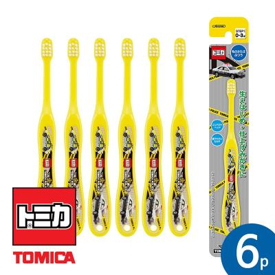 토미카 15 유아용칫솔 STEP1(0~3세) 6P세트