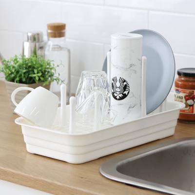 싱글리빙 물병 텀블러 컵걸이 물빠짐 식기건조대 KT30