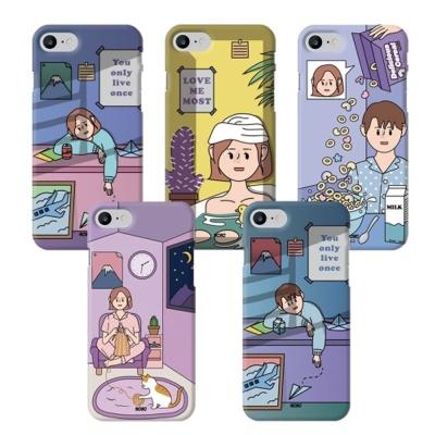 아이폰8 7 플러스 정품 9C9C 남녀 슬림 하드 케이스