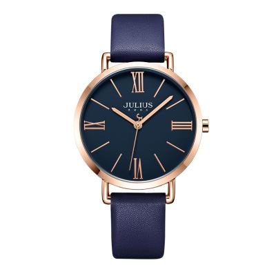 [쥴리어스공식] JA-1107L 여성시계 가죽시계 커플시계