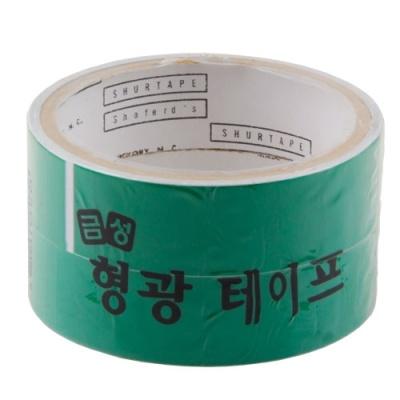 [금성케이엔티] 형광테이프25X2 (2개입)녹색 [개/1] 146358