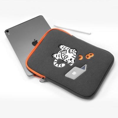 도넛 타이거 랩탑&태블릿 파우치