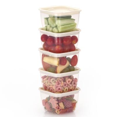 한끼밥 냉동밥 전자렌지용기 400ml 5개(크림)