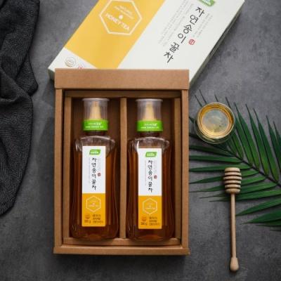 [山송림속] 특허받은 자연산 송이버섯 꿀차 500gx2병