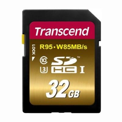[트랜샌드] SDHC카드 32GB UX3 영상제작용