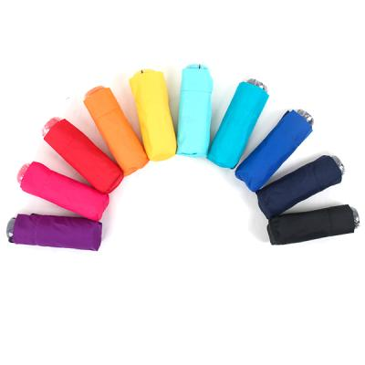 [더로라]휴대용 우산- 5단 접는 우산 - 5단 BASIC솔리드10칼라 e542