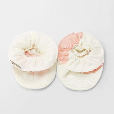 [메르베] 납작복숭아 신생아발싸개_여름용