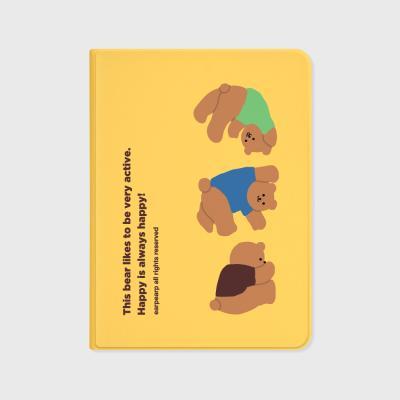 Rolling bear-yellow(아이패드-커버)