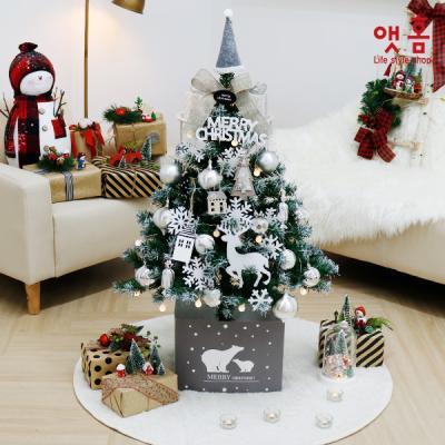 앳홈 스노우화이트 크리스마스 트리 1M