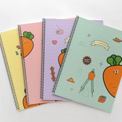 핑크풋 1000당근칸넓은수학공책