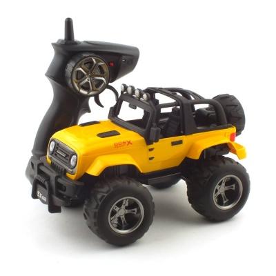1/18 2WD 오프로드 지프 R/C 옐로우