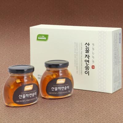 [특허인증] 자연산 송이버섯 담은 꿀 200gx2병