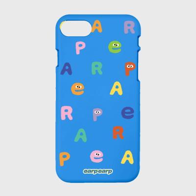 Earp Alphabet-blue(color jelly)