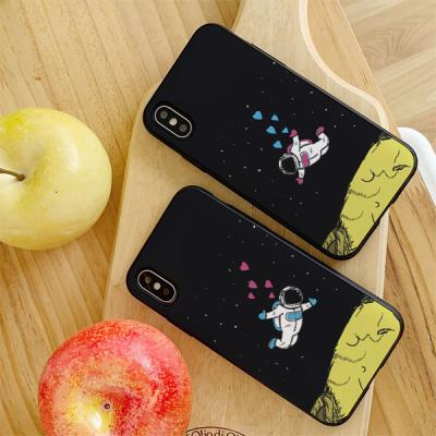아이폰8 우주커플 카드케이스
