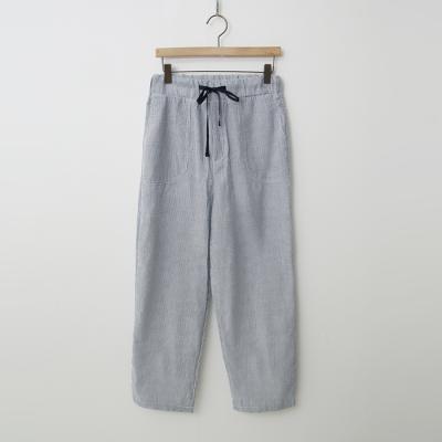 Seersucker Easy Banding Pants