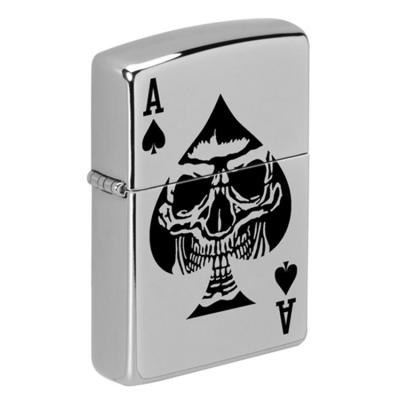 ZIPPO 라이터 49426 Satin Chrome Color Image