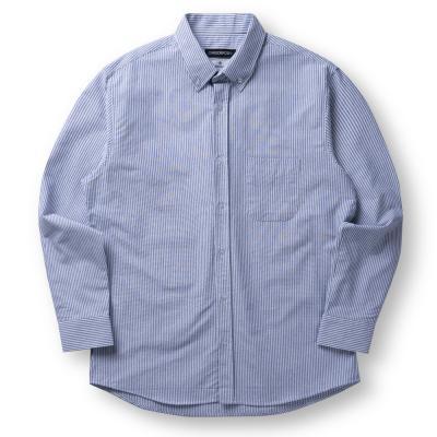 CB 오버핏 옥스포드 셔츠 (네이비)