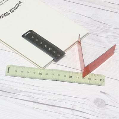 책갈피 겸용 15cm 눈금자-나카바야시 마그네틱 북마크 HF366