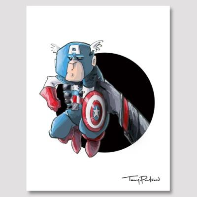 [4만마켓] Hand over Hero 캡틴아메리카