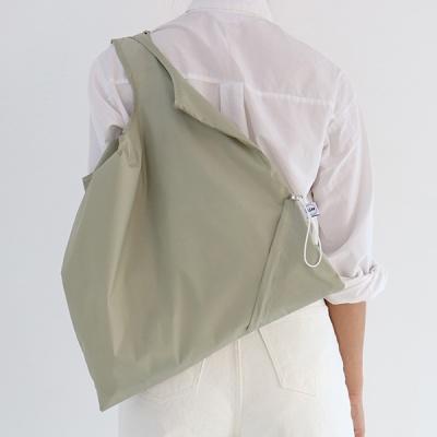 [칼라링백/클레이브라운] 에코백/시장가방/보조가방