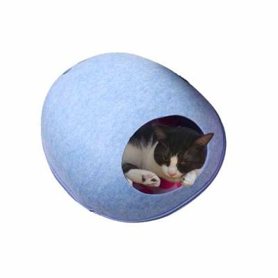 풋프린팅 고양이 고양이 하우스 고양이집(s 블루)
