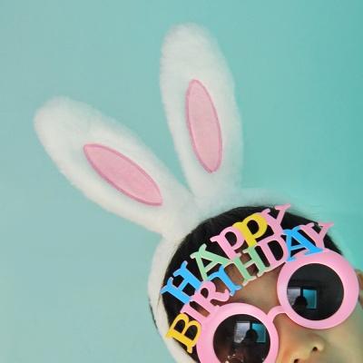 토끼 머리띠(3컬러)