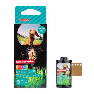 [로모그래피정품] 35mm 컬러 네거티브 ISO 800 필름 - 3롤 1팩 / 35mm 일반필름
