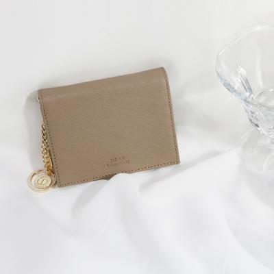 D.LAB Minette Half Wallet - Beige