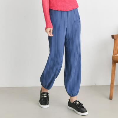 Pleats Jogger Pants