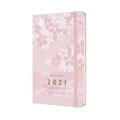 몰스킨 2021먼슬리/벚꽃 L