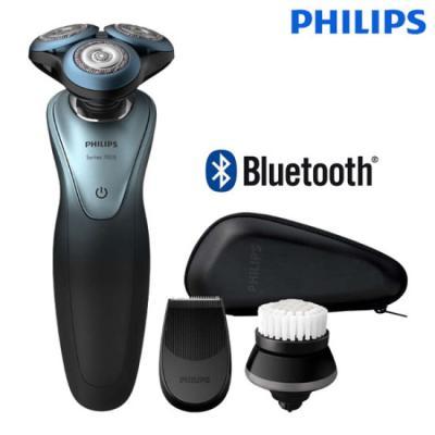 필립스 7000시리즈 블루투스 플랜 건습식 전기면도기