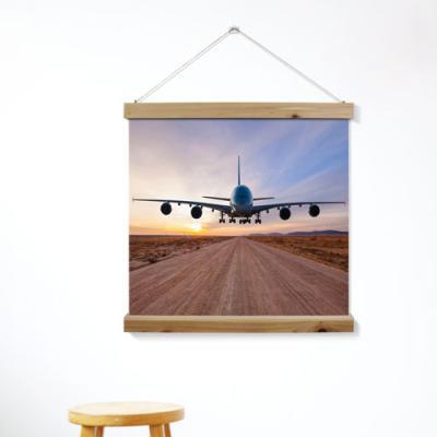 ah281-우드스크롤_60CmX60Cm-멋진비행기