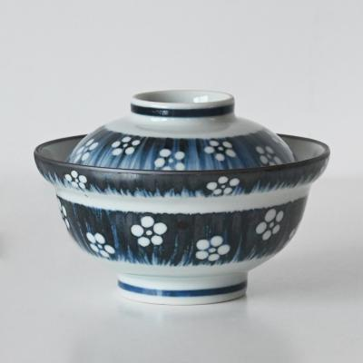 봄맞이 뚜껑 돈부리 텐동그릇