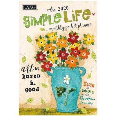 2020포켓다이어리-simple life