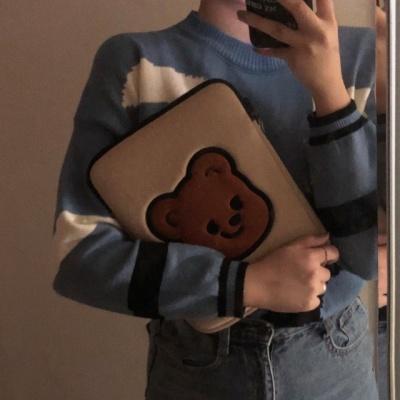 큐피드곰 패드 양면 파우치(S/L)