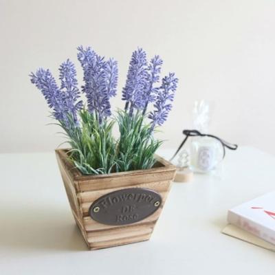 라벤더 조화 화분 퍼플 조화꽃 인조화분 인테리어소