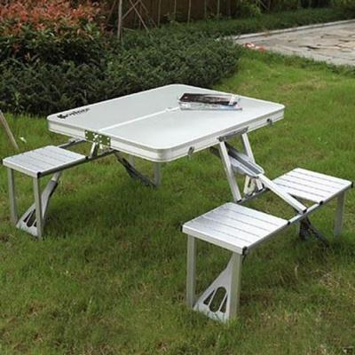접이식 피크닉 알류미늄 캠핑 테이블 4인용