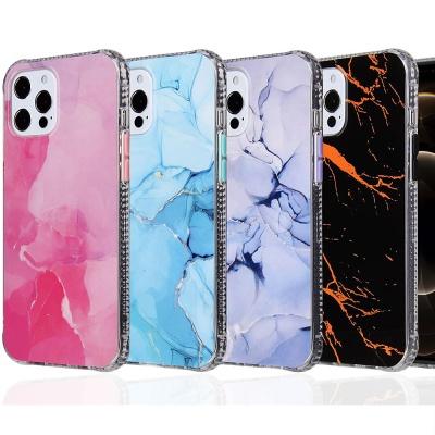 아이폰11 pro max 프로 대리석 슬림 투명젤리 케이스