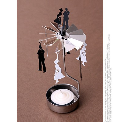 ROTARY CANDLE HOLDER WEDDING[캔들홀더]