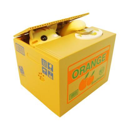 박스 고양이 저금통