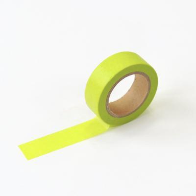 왈가닥스 솔리드 마스킹테이프 - 08 Lime