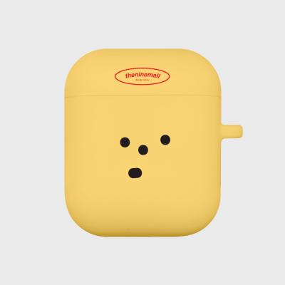표정이 옐로우 에어팟 케이스[yellow]