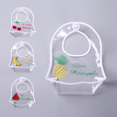특가 투명한 과일 방수턱받이 4종세트 700007