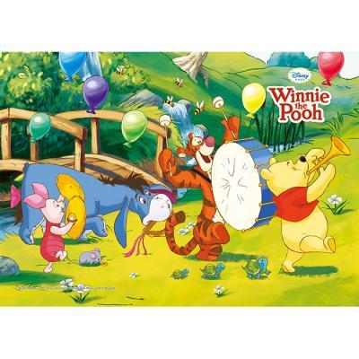 80조각 판퍼즐 - 곰돌이 푸우 꿀단지 악단