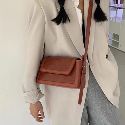 여성 크로스백 숄더백 가방 데일리 보헨 스퀘어 레더